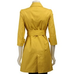 BB Dakota Women's 'Witherspoon' Trench Coat - Thumbnail 1