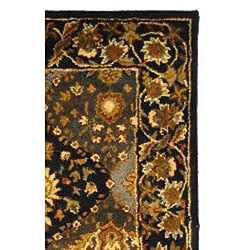 Safavieh Handmade Tabriz Blue Wool Rug (3' x 5') - Thumbnail 1