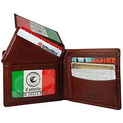 Milano Passcase Brown Men's Wallet - Thumbnail 1