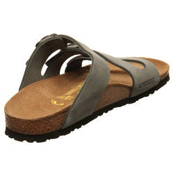 Cheap Mens Birkenstock Orlando Sandals Creamy White Outlet