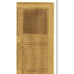 Safavieh Lakeview Natural/ Brown Indoor/ Outdoor Rug (2'7 x 5') - Thumbnail 1