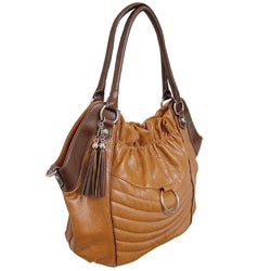 Je Veux Two-tone Double-strap Oversized Handbag - Thumbnail 1