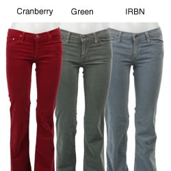 Adriano Goldschmied Women's 5-pocket Bootcut Corduroy Pants - Free ...