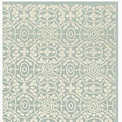 Martha Stewart by Safavieh Bloomery Aloe Cotton Rug (3'9 x 5'9) - Thumbnail 1