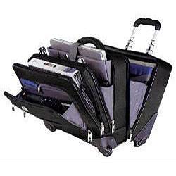 Samsonite 4 Wheel Spinner Laptop Briefcase