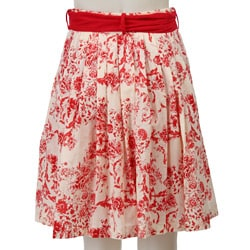 FINAL SALE Eva Franco Women's 'Avril' Floral Skirt - Thumbnail 1