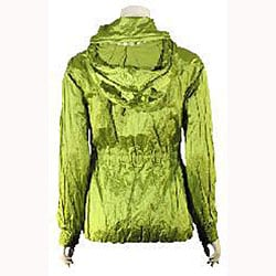 Betsey Johnson Women's Acid Green Anorak - Thumbnail 1