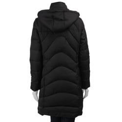 Nautica Women's 3/4-length Down Coat