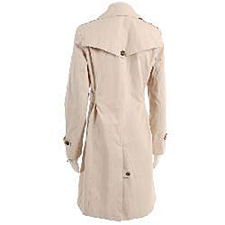 Colebrook Women's Belted Trench Coat