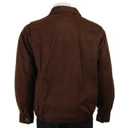 Claiborne Men's Microsuede Jacket - Thumbnail 1