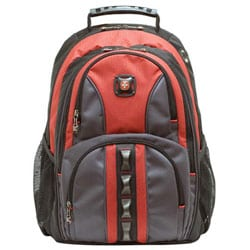 Wenger Swiss Gear Austin Red Laptop Backpack - Free Shipping Today ...