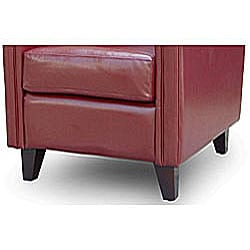 Bonded Leather Club Chair - Thumbnail 1