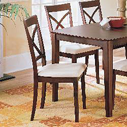Merlot 7-piece Dining Table/ Chair Set - Thumbnail 1