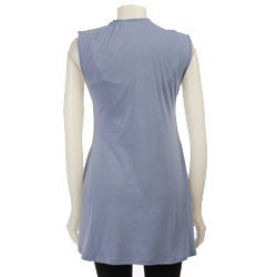AtoZ Women's Deep V-neck Top - Thumbnail 1