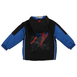 Marvel's Spider Man Toddler Boys' Hooded Coat - Thumbnail 1
