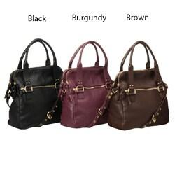 Presa 'Camden' Leather Crossbody Handbag - Thumbnail 1