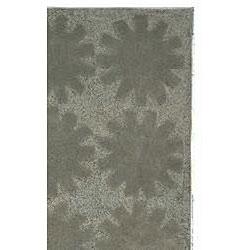 Martha Stewart by Safavieh Astronomy Mercury Grey Cotton Rug (2'6 x 4'3)