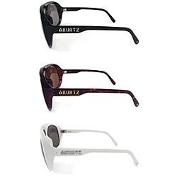 Thumbnail 2, A.Kurtz 'Milton' Men's Plastic Sunglasses. Changes active main hero.