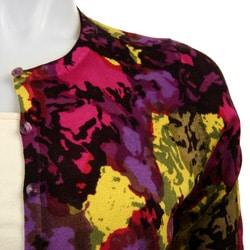Sweaterworks Women's Printed Cardigan