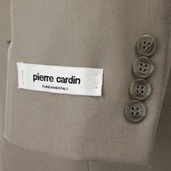 Pierre Cardin Men's Pleated 3-button Suit