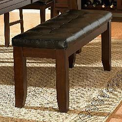 Camden Arts and Crafts 60-inch Faux Lea