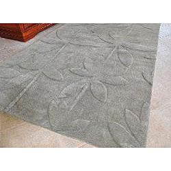 Iris New Zealand Wool Rug (5' x 8') - Thumbnail 1