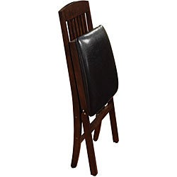 Mission-style Folding Chairs (Set of 2) - Thumbnail 1