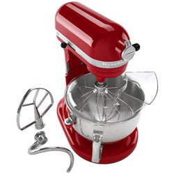 KitchenAid KP26M1XER Empire Red Professional 600 6-quart Stand Mixer - Thumbnail 1
