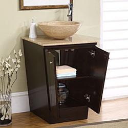 Silkroad Exclusive Auburn Bathroom Vessel Vanity Sink - Thumbnail 1