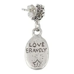 Lola's Jewelry Sterling Silver Mermaid Earrings - Thumbnail 1