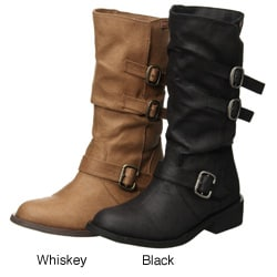 Rocket Dog Women's 'Chain Gang' Boots - Thumbnail 1