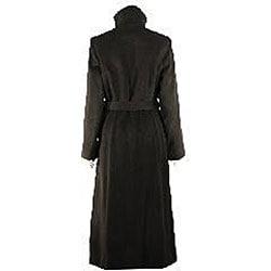 Liz Claiborne Women's Long Wool Coat - Free Shipping Today ...
