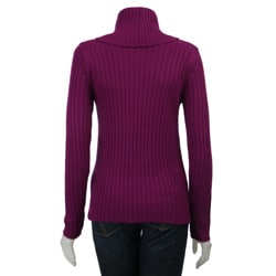 Western Connection Women's Long-sleeve Cable Knit Sweater - Thumbnail 1