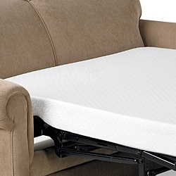 Comfort Dreams 4.5-inch Twin-size Memory Foam Sofa Sleeper Mattress - Thumbnail 1