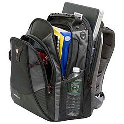Wenger Swiss Gear Mythos Black/Silver Laptop Backpack - Free ...