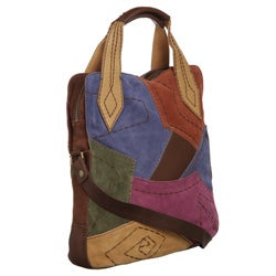 Lucky Brand Patchwork Crossbody Tote