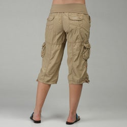 Calvin Klein Performance Women's Cargo Capri Pants - Free Shipping ...