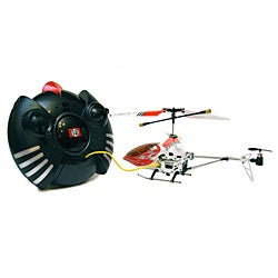 Shop Mini Metal V Max 3 Channel Remote Control Helicopter With Gyro Auostabilization