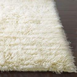 Alexa standard natural flokati new zealand wool shag rug for Ikea ship to new zealand