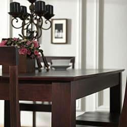Brown 5-piece Wood Dining Set