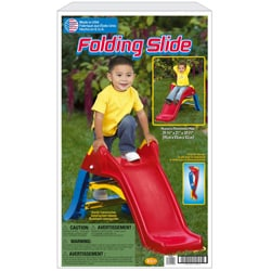 American Plastic Toys Outdoor Plastic Toy Slide - Thumbnail 1