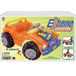 American Plastic Toys Extreme Ride In 83