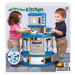American Plastic Toys My Very Own Kitchen Play Set - Thumbnail 1