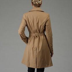 DKNY Women's Belted Rain/ Trench Coat
