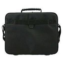 Hummer Ruggedized Black Business Portfolio Laptop Case - Thumbnail 1