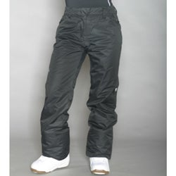 Marker Women's Black Insulated Cargo Pants - Thumbnail 1