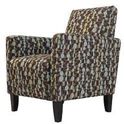 Gia Urban Arm Chair Orbit Brown Blue - Thumbnail 1