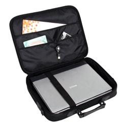 Elite Travel 17-inch Black Laptop Briefcase