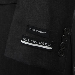 Austin Reed Men's Solid Charcoal Grey Suit - Thumbnail 1