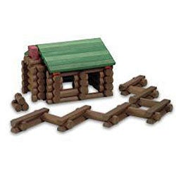 Lincoln Logs Bicentennial Edition Tin - Thumbnail 1